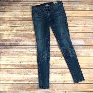 Rag & Bone samurai moto cardiff skinny jeans Sz 29